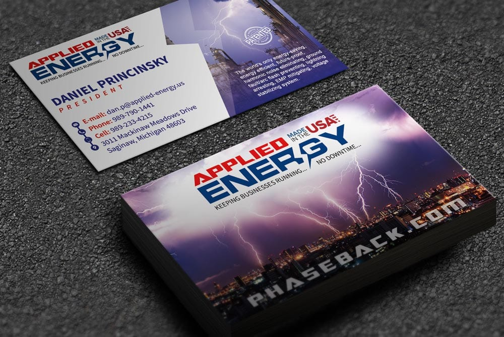 Applied Energy - Business Cards