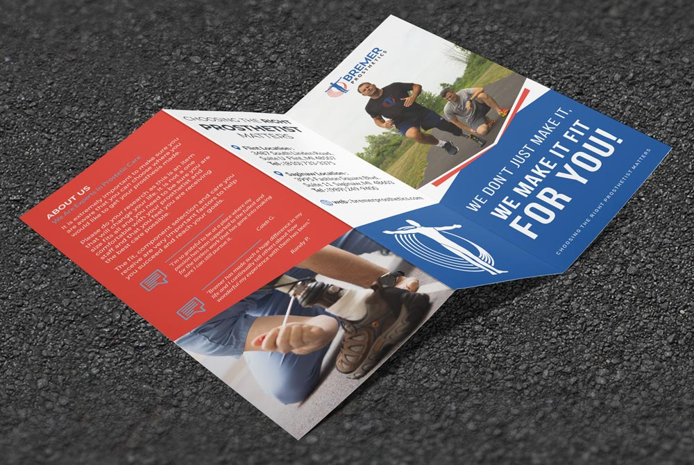Bremer Prosthetics - Brochure Outside