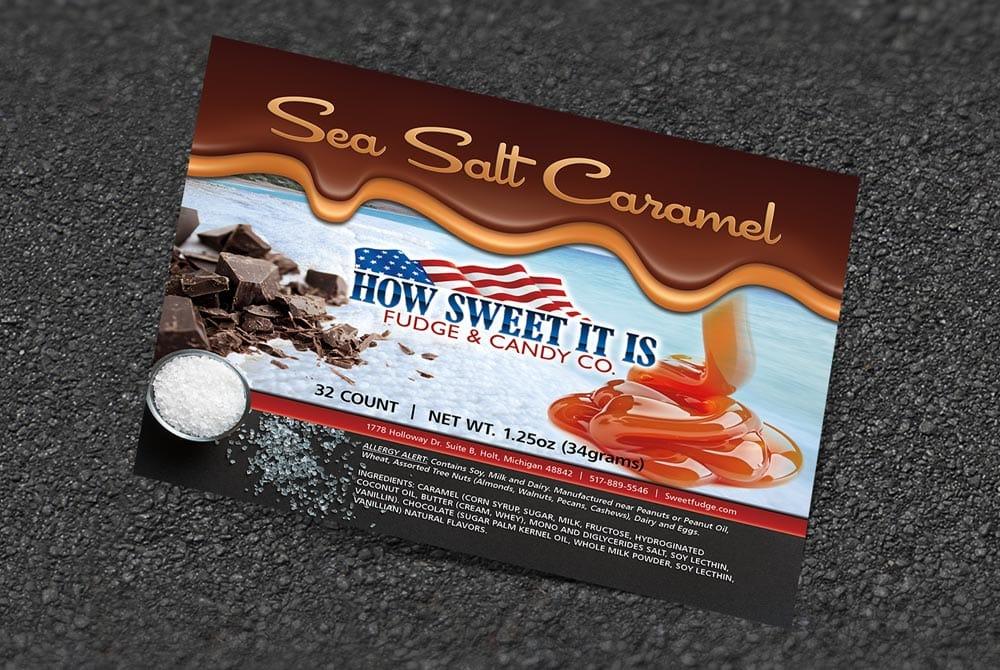 Sweet Fudge - Decal 2