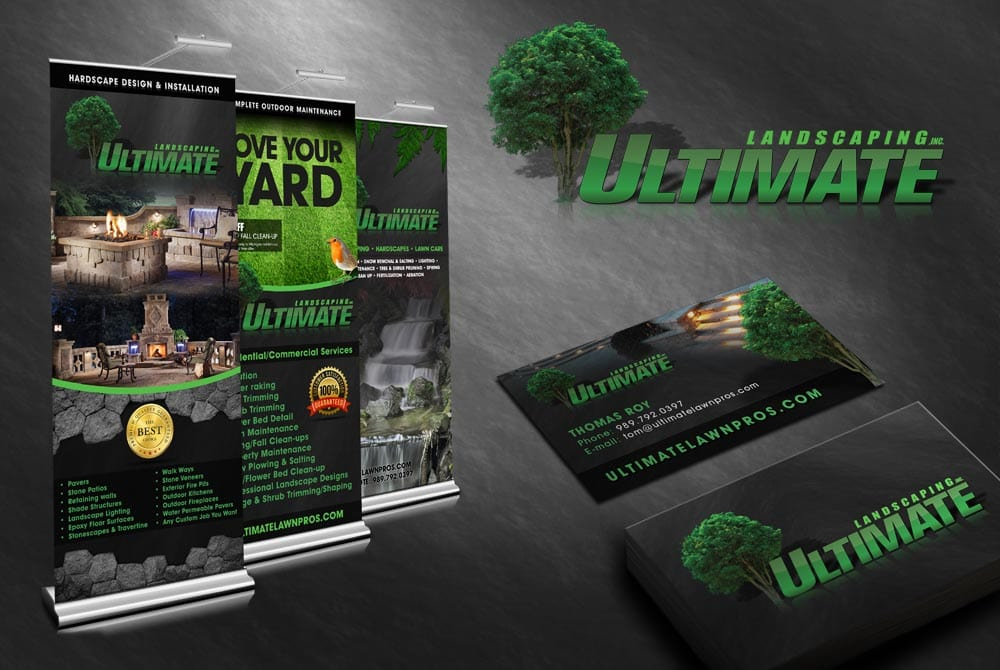 Ultimate Landscaping - Graphic Design