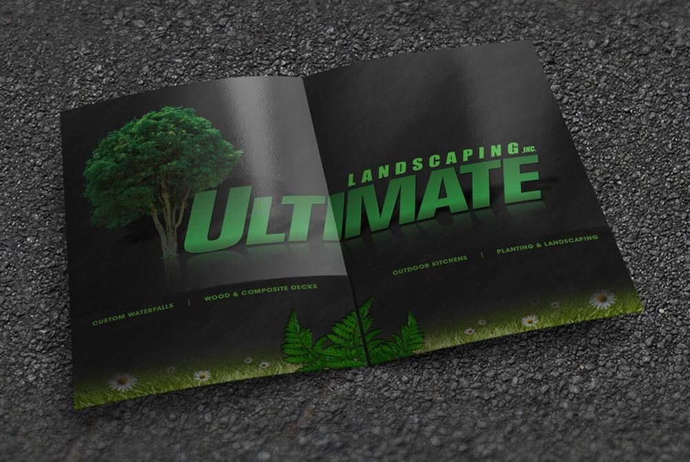 Ultimate Landscaping - Presentation Folder Inside